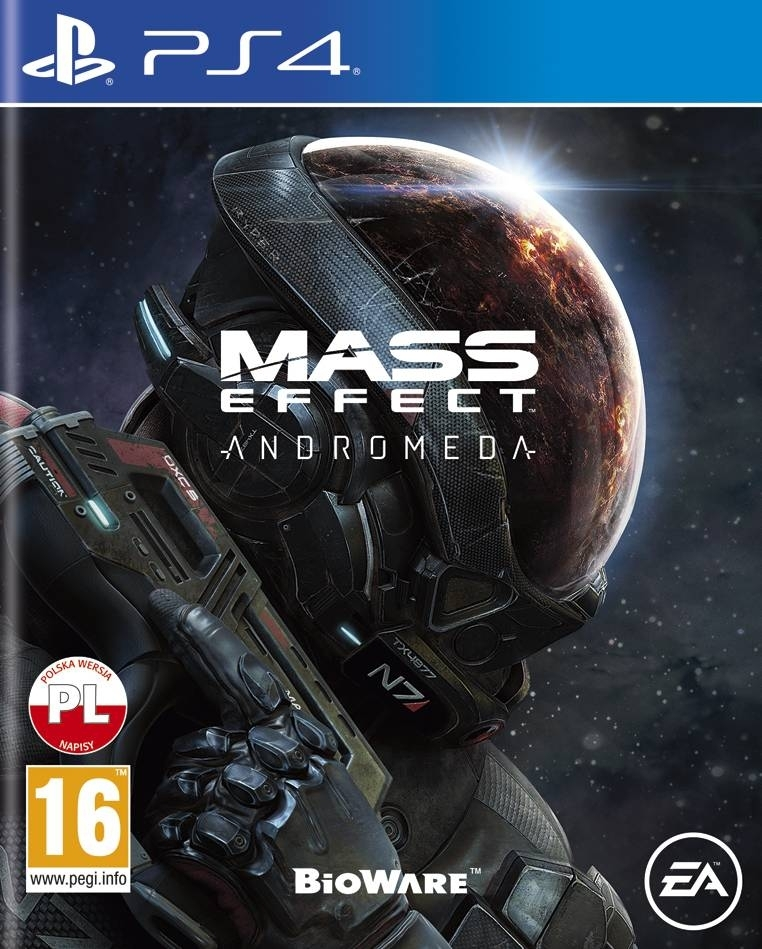 Mass Effect Andromeda PL (PS4)